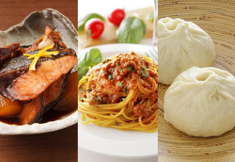 基礎パック 和食・イタリアン・中華